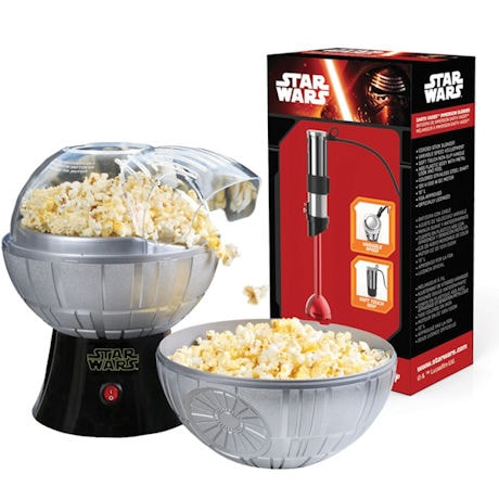 Star Wars™ Kitchen Set - Death Star Popcorn Maker and Darth Vader Stick Blender