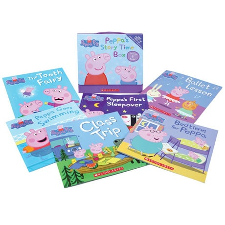 Peppa's Storytime Books Box Set