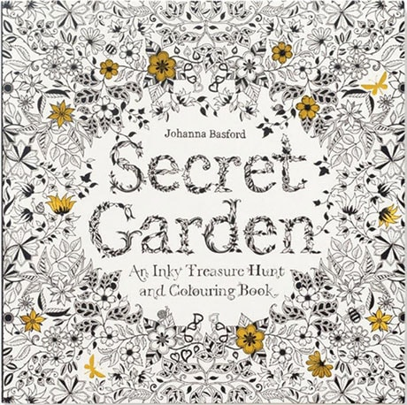 Inky Quest Coloring Books - Secret Garden