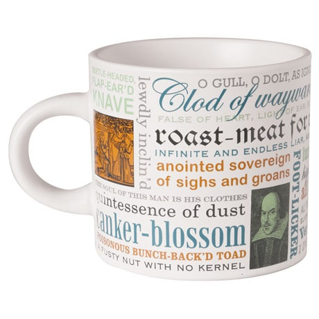 Thou Spleeny Swag-Bellied Miscreant: Create Your Own Shakespearean Insults Mug