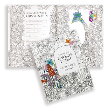 World of Favorite Poems Coloring Book
