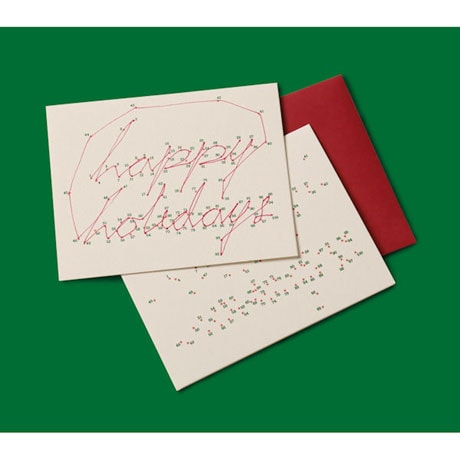Connect the Dots Holiday Cards