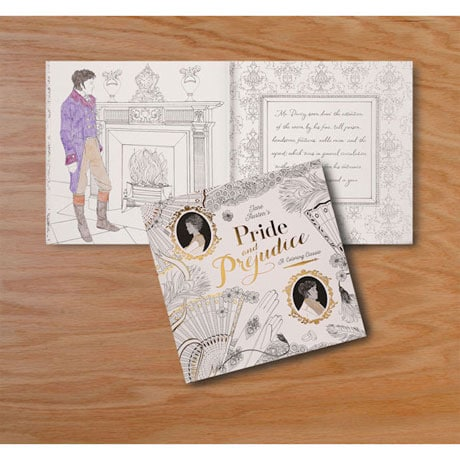 <i>Pride and Prejudice</i>: A Coloring Classic Book