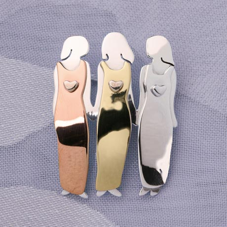 Three Women Pin