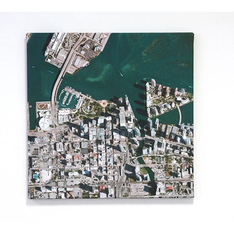Personalized Aerial Image Canvas Print