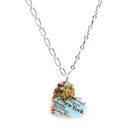 Art Heart Necklace
