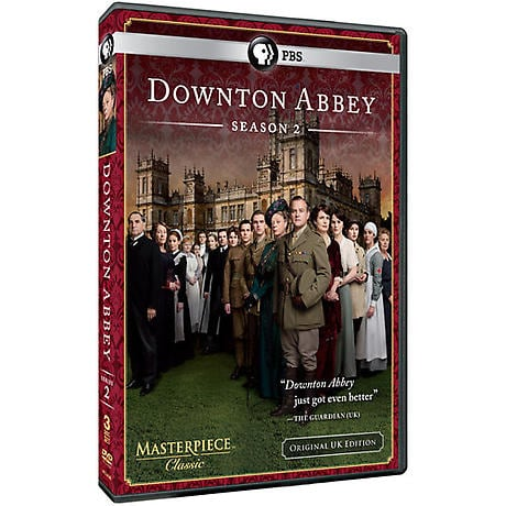 Downton Abbey: Season 2 DVD