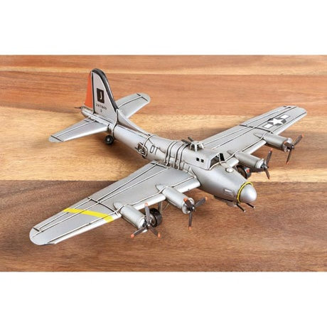 World War II Metal Sculptures - Flying Fortress
