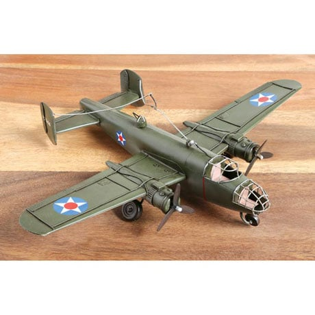 World War II Metal Sculptures - B-25 Bomber