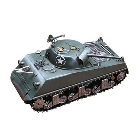 World War II Metal Sculptures - Armored Tank