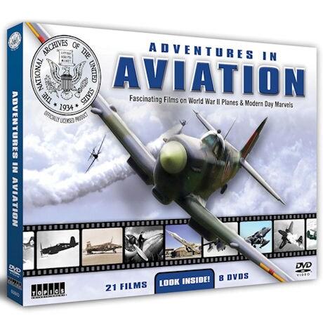 Adventures In Aviation DVD Set