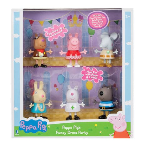 Peppa Pig Fancy Dress Party Figurines