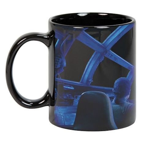 Star Wars™ Rey & Chewie Millennium Falcon Cockpit Hyperspace Heat Changing Coffee Mug