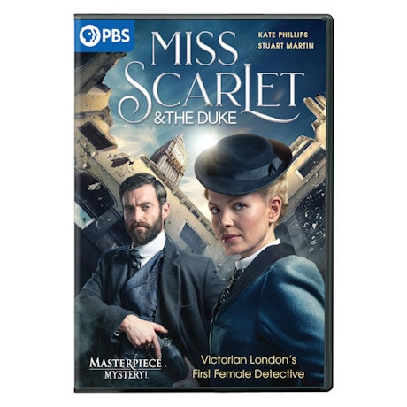 PRE-ORDER Miss Scarlet & the Duke DVD