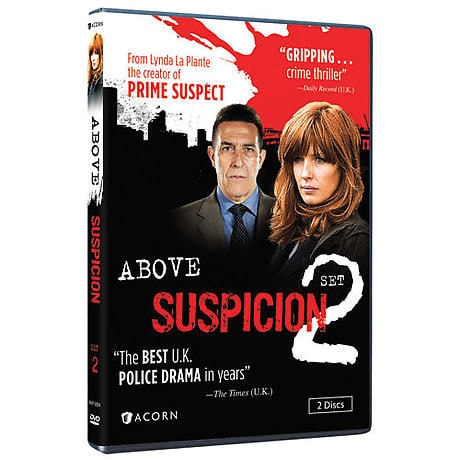 Above Suspicion: Set 2 DVD