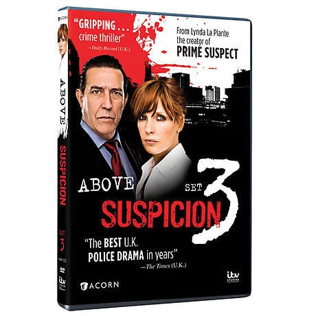 Above Suspicion: Set 3 DVD