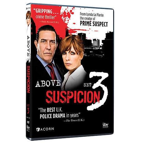 Above Suspicion: Set 3 DVD