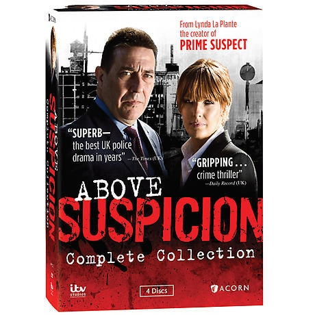 Above Suspicion: Complete Collection DVD