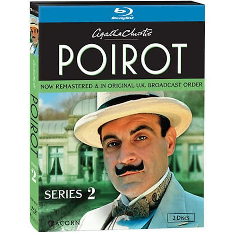 Agatha Christie's Poirot: Series 2 DVD & Blu-ray