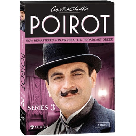 Agatha Christie S Poirot Series 3 Dvd Blu Ray 2 Reviews 5 Stars Acorn Xa0322