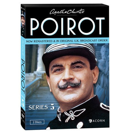 Agatha Christie S Poirot Series 5 Dvd Blu Ray 4 Reviews 5 Stars Acorn Xa0342