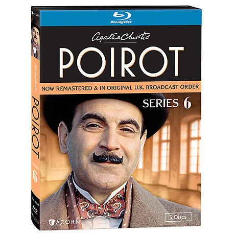 Agatha Christie S Poirot Series 6 Dvd Blu Ray 2 Reviews 5 Stars Acorn Xa0352