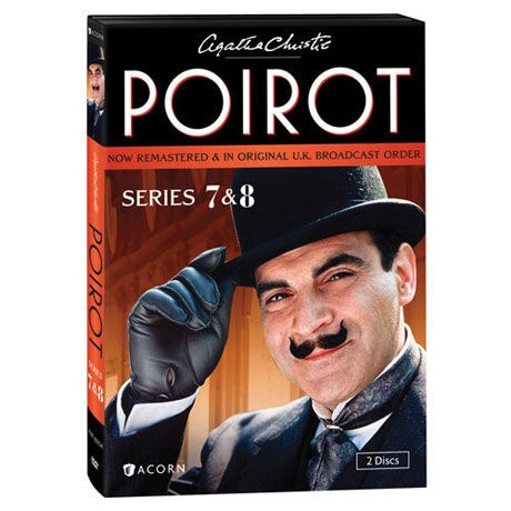 Agatha Christie's Poirot: Series 7-8 DVD & Blu-ray