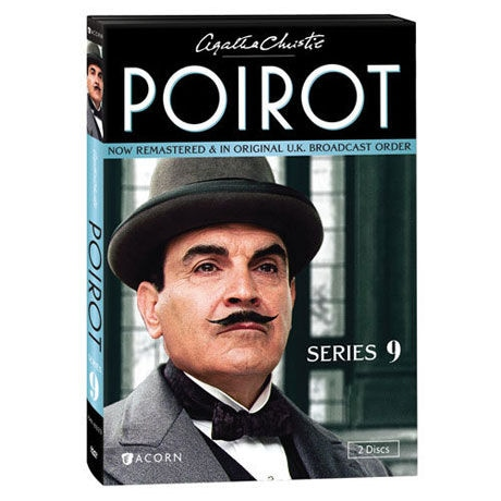 Agatha Christie S Poirot Series 9 Dvd Blu Ray 5 Reviews 5 Stars Acorn Xa0372