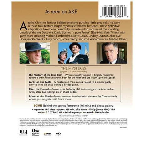 Agatha Christie's Poirot: Series 10 DVD & Blu-ray