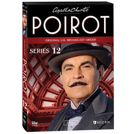 Agatha Christie's Poirot: Series 12 DVD & Blu-ray