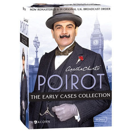 Agatha Christie's Poirot: The Early Cases Collection