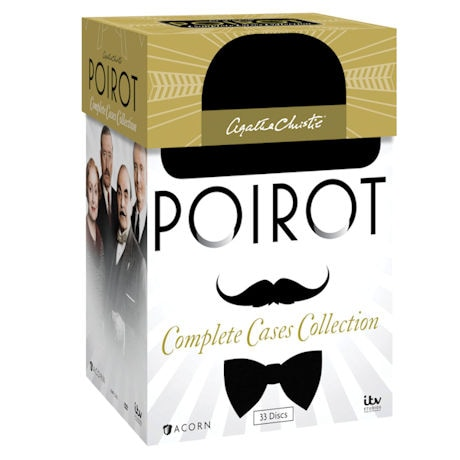 Agatha Christie's Poirot: The Complete Cases Collection Blu-ray