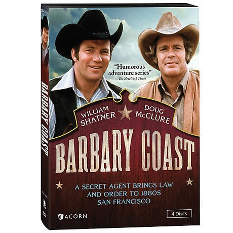 Barbary Coast DVD