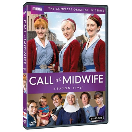 Call the Midwife; Season 5 DVD & Blu-ray
