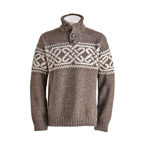 Men's Celtic Fair Isle Pullover
