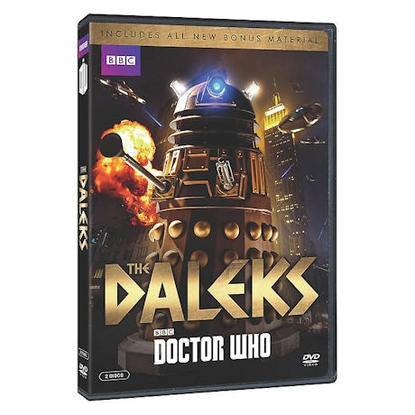 Doctor Who: The Daleks DVD