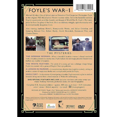 Foyle's War: Set 1 DVD