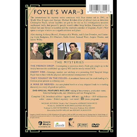 Foyle's War: Set 3 DVD