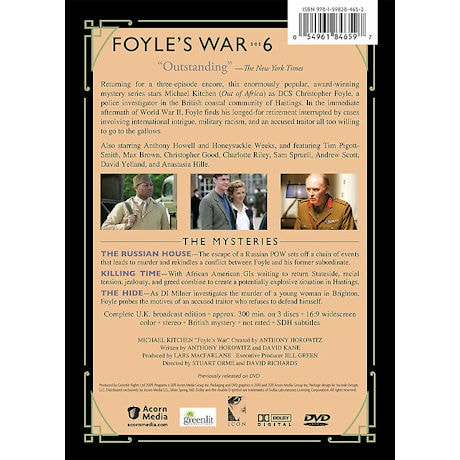 Foyle's War: Set 6 DVD