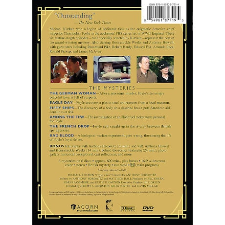 The Best of Foyle's War DVD