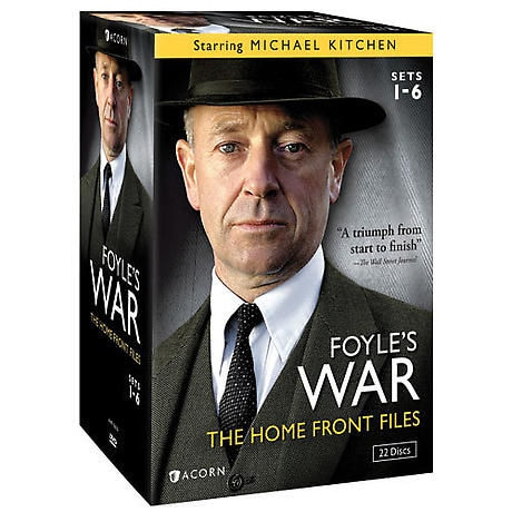 Foyle's War: The Homefront Files: Set 1-6
