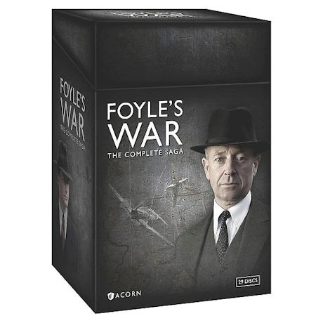 Foyle's War: The Complete Saga - Box Set | 8 Seasons, 29 DVD's