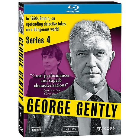 George Gently: Series 4 DVD & Blu-ray
