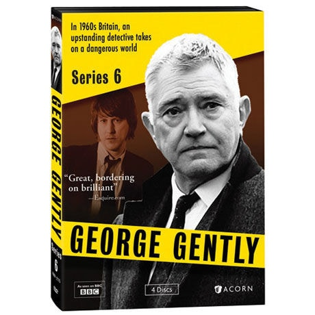 George Gently: Series 6 DVD & Blu-ray