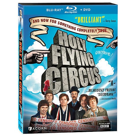 Holy Flying Circus DVD & Blu-ray