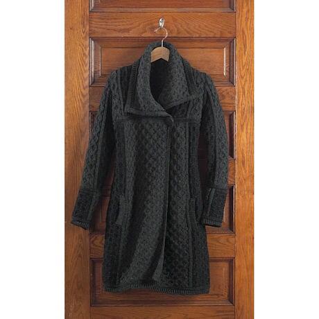 Honeycomb Sweater Coat