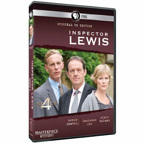 Inspector Lewis: Series 4 DVD & Blu-ray