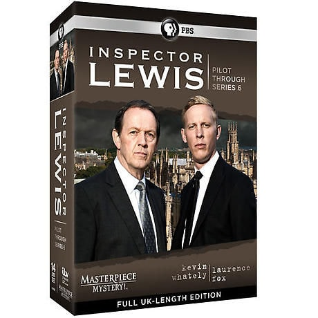 Inspector Lewis Collection: Pilot Through Series 6