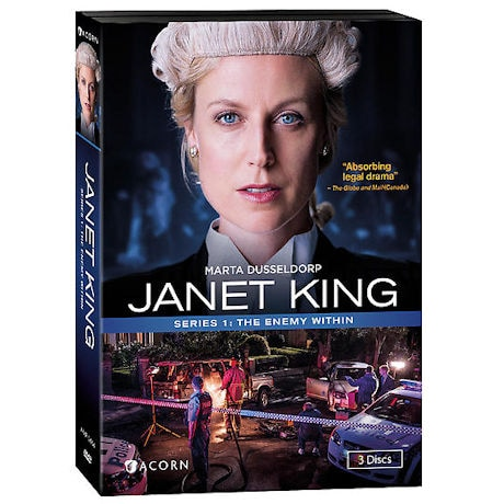 Janet King: Series 1: The Enemy Within DVD