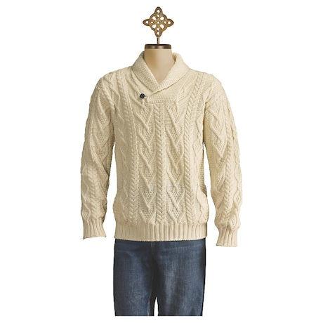 Men's Shawl-Collar Pullover
